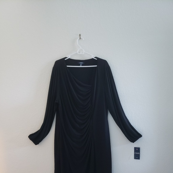 9cc9811f Chaps Dresses | Black Dress Plus Size | Poshmark